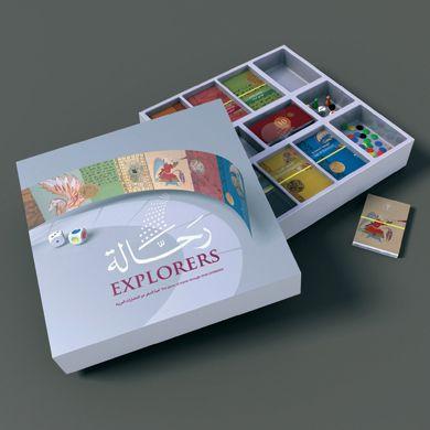 Rahala / Explorers board game